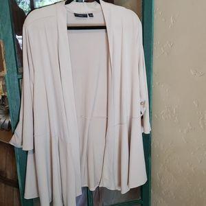 Susan Graver artisan 3X super stretchy cardigan